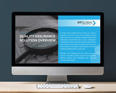 Quality Assurance Solution Overview